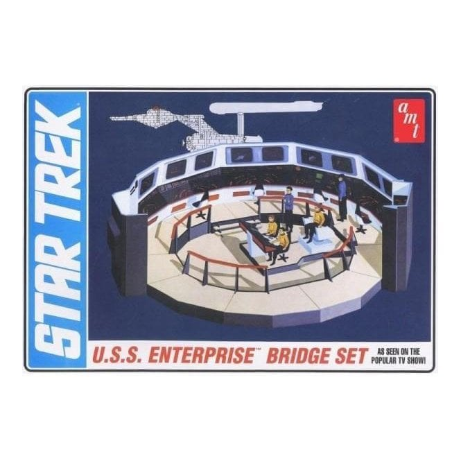 AMT 1:32 Star Trek U.S.S. Enterprise Bridge Model Kit