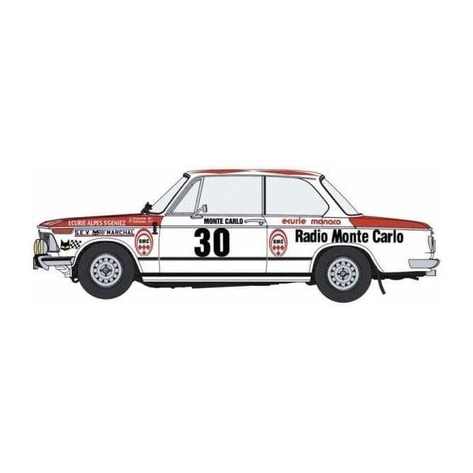 Hasegawa 1:24 BMW 2002 TII 1975 Monte-Carlo Rally Car Model Kit