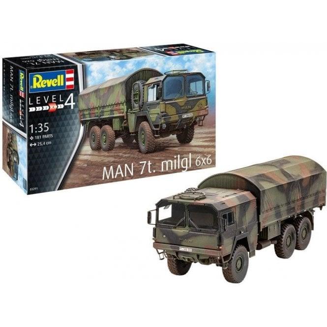 Revell 1:35 MAN 7t Milgl Military Model Kit