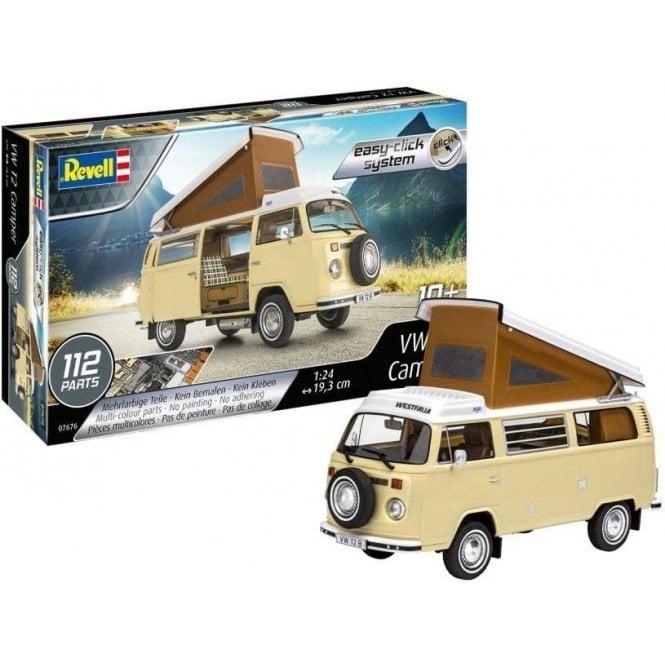 Revell 1:24 VW T2 Camper (Easy-Click) Car Model Kit