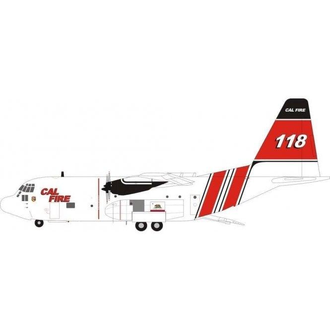 InFlight 200 Lockheed Hercules C130H (L-382) Cal Fire Reg - N118Z - 1:200 Scale