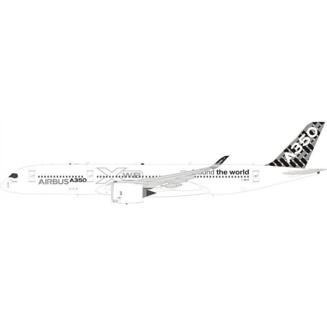 """InFlight 200 Airbus A350-900 Airbus Industrie """"Around the World"""" Reg - F-WWYB - 1:200 Scale"""