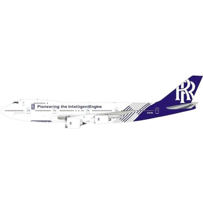 InFlight 200 Boeing 747-200B Rolls-Royce Reg - N787RR - 1:200 Scale