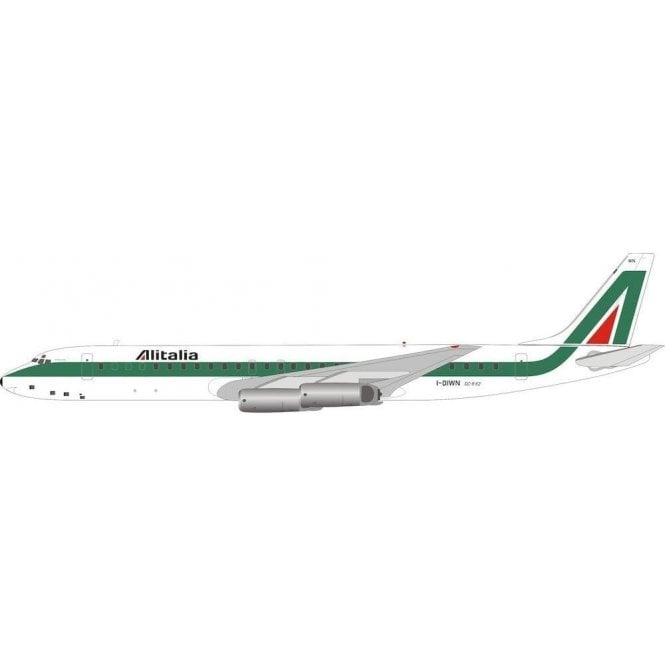 InFlight 200 Douglas DC8-62H Alitalia - Reg I-DIWN - 1:200 Scale
