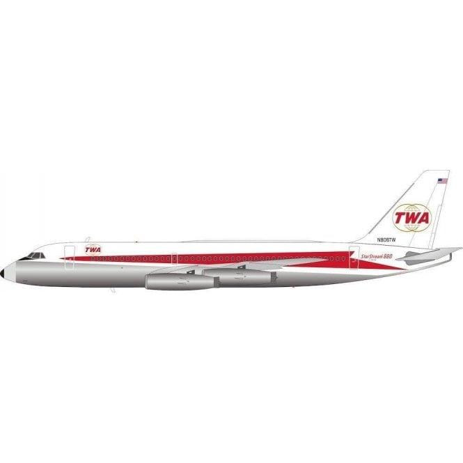 InFlight 200 Convair CV880 TWA Trans World Airlines - Reg N806TW - 1:200 Scale