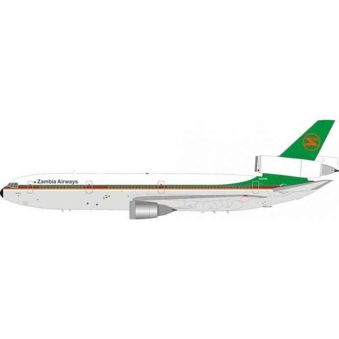InFlight 200 Douglas DC10-30 Zambia Airways - Reg N3016Z - 1:200 Scale