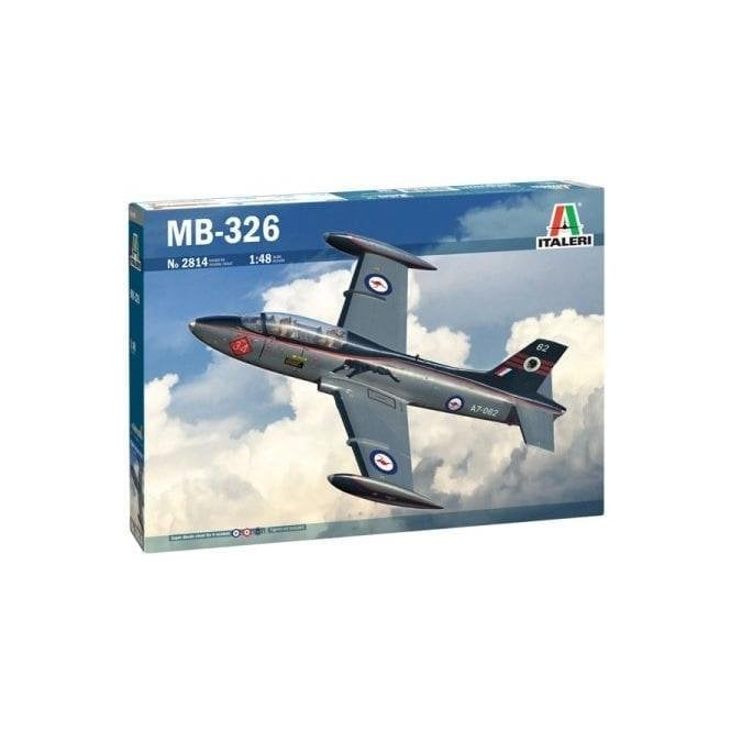 Italeri 1:48 Aermacchi MB 326 Aircraft Model Kit