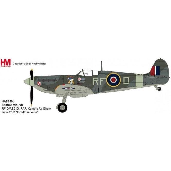 Hobby Master 1:48 Spitfire MK. Vb RF-D/AB910, RAF, BBMF Kemble Air Show 2011