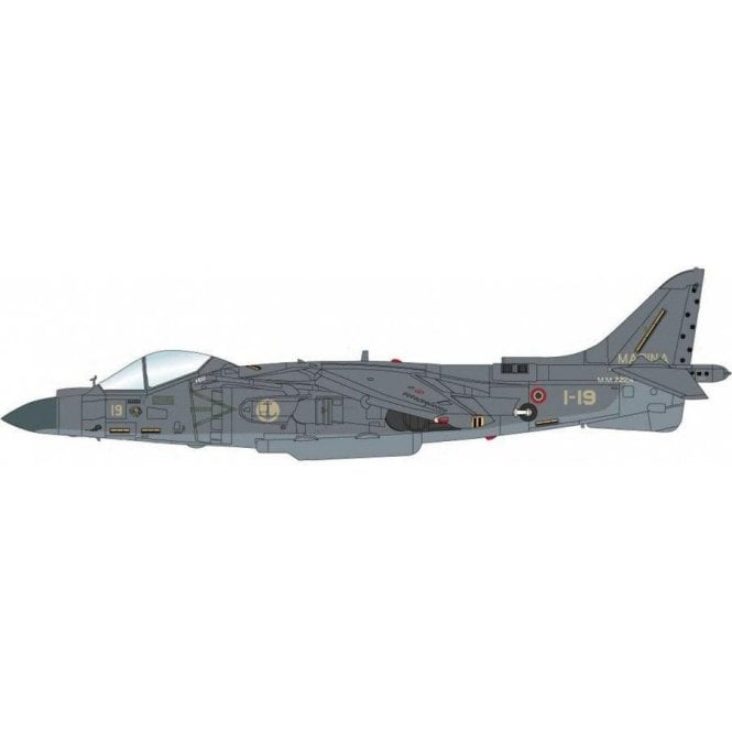 "Hobby Master 1:72 AV-8B Harrier II Plus 1-19, Marina Militare, North Arabian Sea, 2002 ""Operation Eduring Freedom"""
