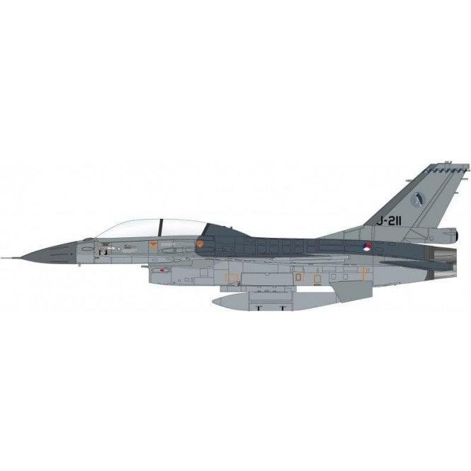 Hobby Master 1:72 F-16BM J-211, 322 Squadron, RNLAF, Volkel AB, 2006
