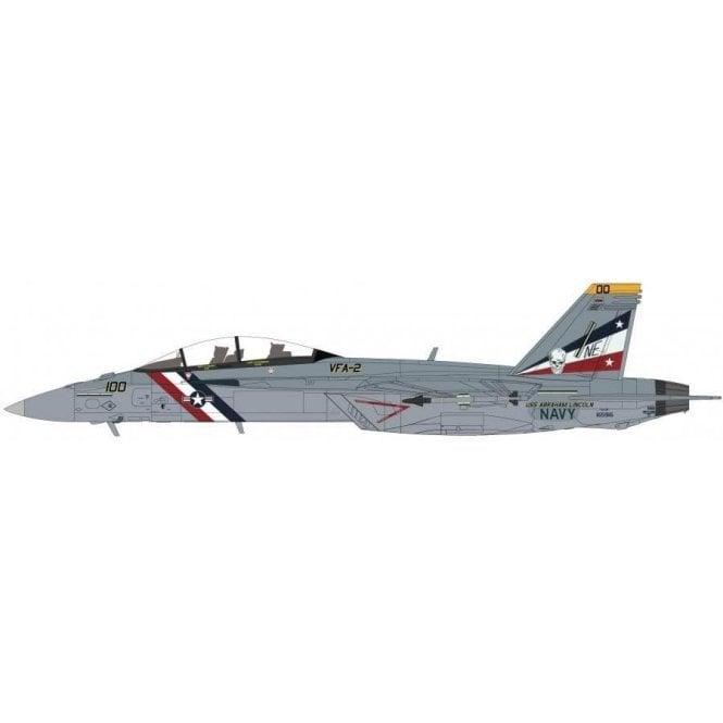 "Hobby Master 1:72 F/A-18F Super Hornet NE100/165916, VFA-2 ""Bounty Hunters"", USS Abraham Lincoln, 2012"