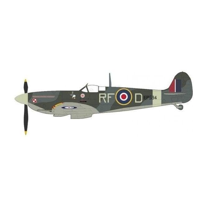 Hobby Master 1:48 Spitfire MK. Vb RF-D/EP594, 303 Sqn., RAF, Lt. Jan Zumbach, Aug/Sept 1942