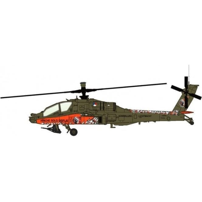 "Hobby Master 1:72 AH-64D ""Apache Solo Display"" Royal Netherlands Air Force 2010"