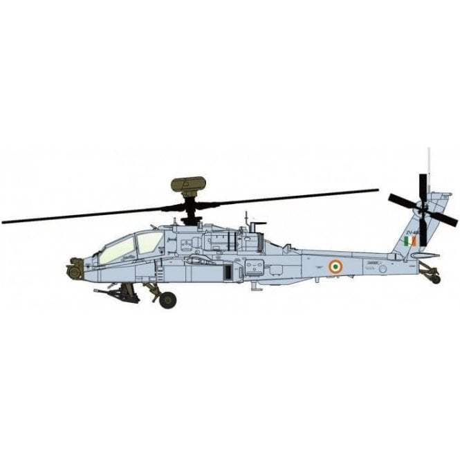 """Hobby Master 1:72 AH-64E Apache Guardian ZV-4808, 125 Helicopter Squadron """"Gladiators"""",  Indian Air Force, 2020"""