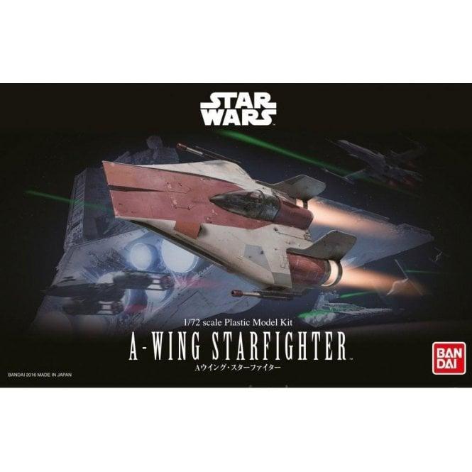 Revell Bandai 1:72 A-Wing Starfighter Star Wars Kit