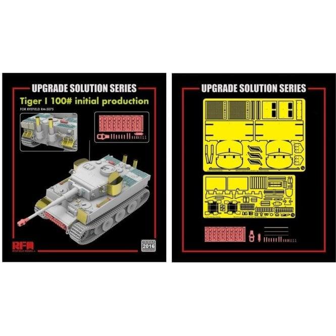 Rye Field Model 1:35 Upgrade Etch Parts Set For RM5075 Tiger I 100# Military Model Kit