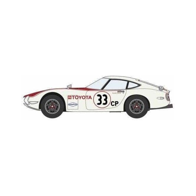 Hasegawa 1:24 Toyota 2000GT - 1968 Scca Sports Car Race Car Model Kit