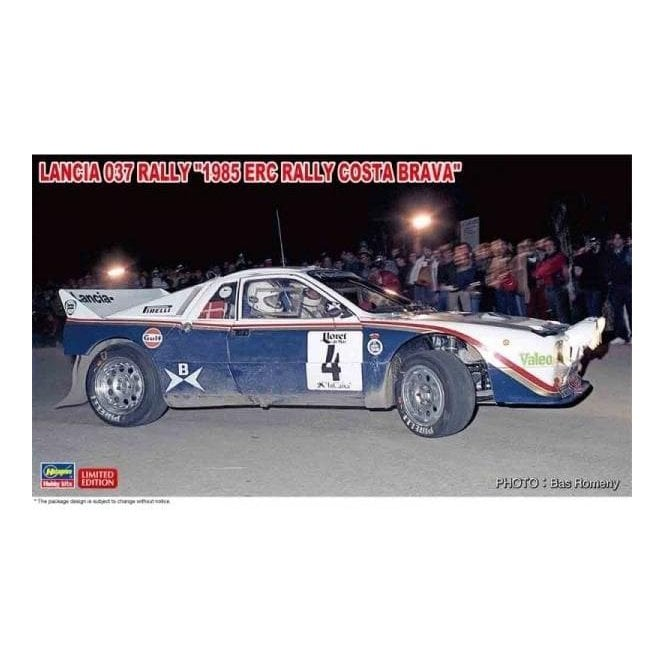 Hasegawa 1:24 Lancia 037 Rally - 1985 ERC Rally Costa Brava Car Model Kit