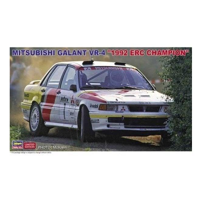 Hasegawa 1:24 Mitsubishi Galant VR-4 - 1992 ERC Champion Car Model Kit