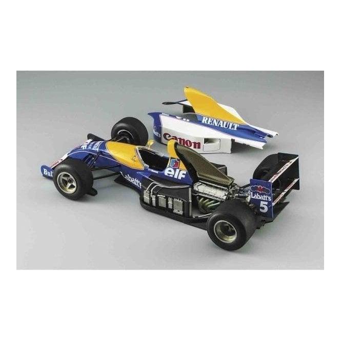 Hasegawa 1:24 Williams FW14 - All Metal Engine Details F1 Car Model Kit