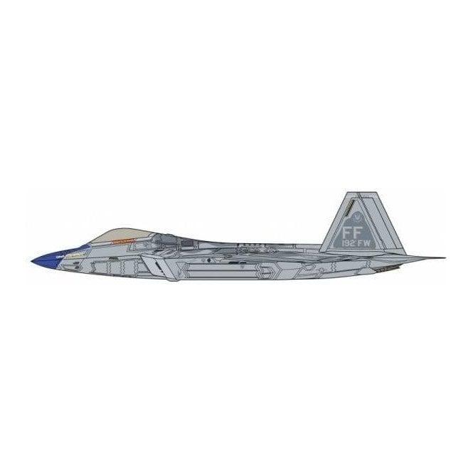 Hasegawa 1:48 F-22 Raptor - Blue Nose Detail Up Version Aircraft Model Kit