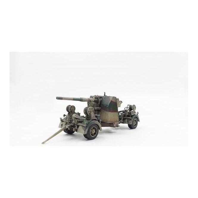 Precision Model Art 1:72 88mm Gun Flak37 Normandy 1944