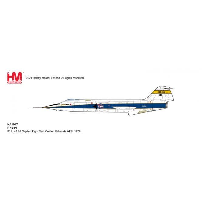 Hobby Master 1:72 F-104N 811, NASA Dryden Fight Test Center,  Edwards AFB, 1979
