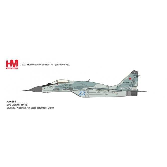 Hobby Master 1:72 MIG-29SMT (9-19) Blue 23, Kubinka Air Base (UUMB), 2019