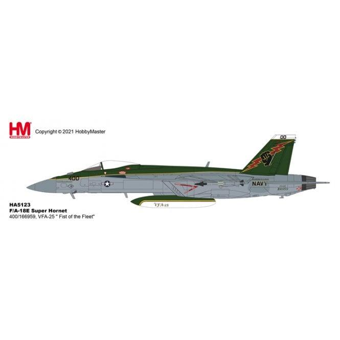 "Hobby Master 1:72 F/A-18E Super Hornet 400/166959, VFA-25 "" Fist of the Fleet"""