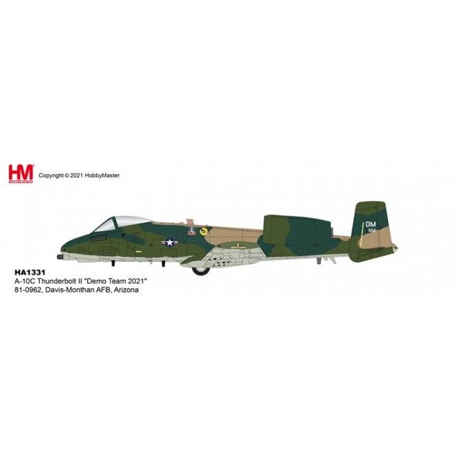 "Hobby Master 1:72 A-10C Thunderbolt II ""Demo Team 2021"" 81-0962, Davis-Monthan AFB, Arizona"