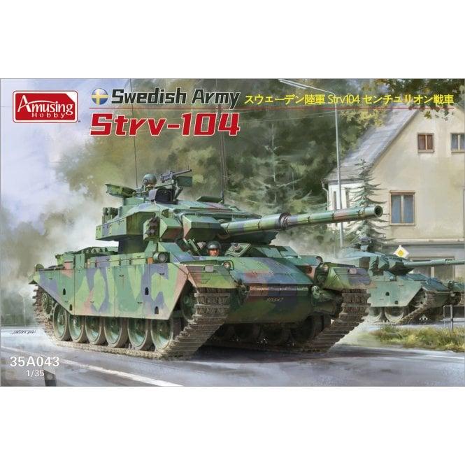 Amusing Hobby 1:35 Swedish Army Strv-104 Military Model Kit