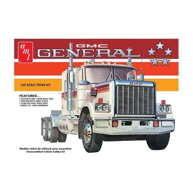 AMT 1:24 1976 GMC General Semi Tractor Truck Model Kit