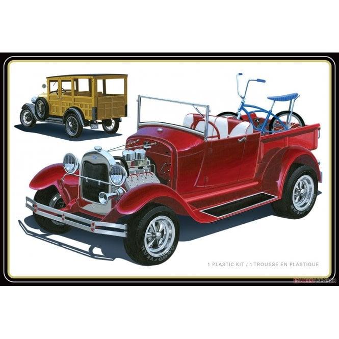 AMT 1:25 1929 Ford Woody Pickup Car Model Kit