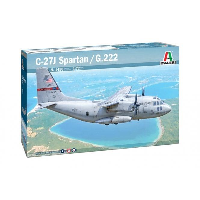 Italeri 1:72 C-27J SPARTAN / G.222 Aircraft Model Kit
