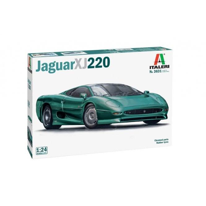 Italeri 1:24 Jaguar XJ 220 Car Model Kit