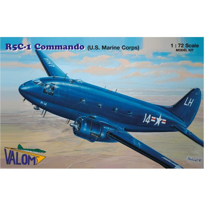 Valom 1:72 Curtiss R5C-1 Commando (U.S. Marine Corps) Aircraft Model Kit