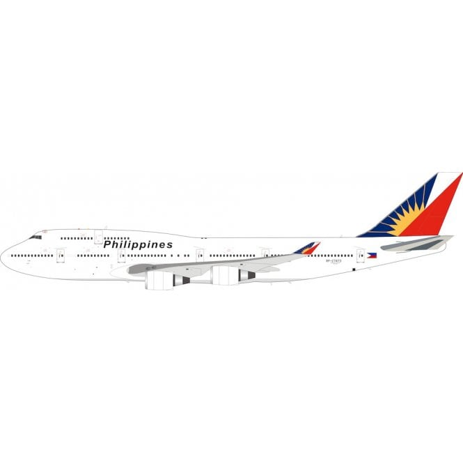 InFlight 200 Boeing 747-400 Philippine Airlines With coin Reg - RP-C7473 - 1:200 Scale