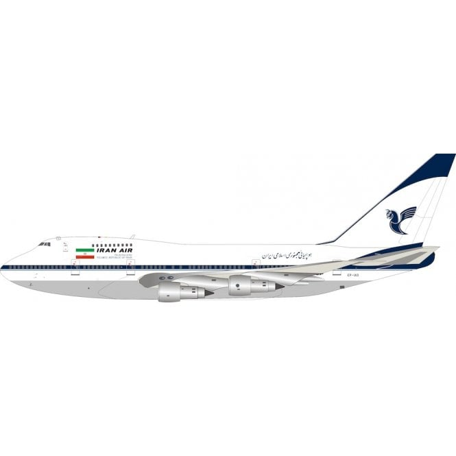 InFlight 200 Boeing 747SP Iran Air Reg - EP-IAD - 1:200 Scale