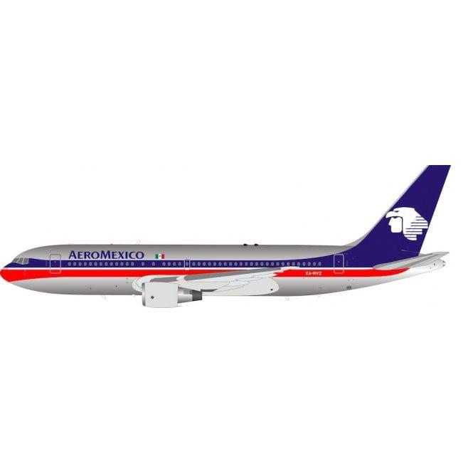 InFlight 200 Boeing 767-200 AeroMexico (Polished) reg - XA-RVZ - 1:200 Scale