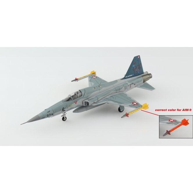 "Hobby Master 1:72 F-5E ""PA CAPONA"" J-3074, Swiss Air Force, 2017"