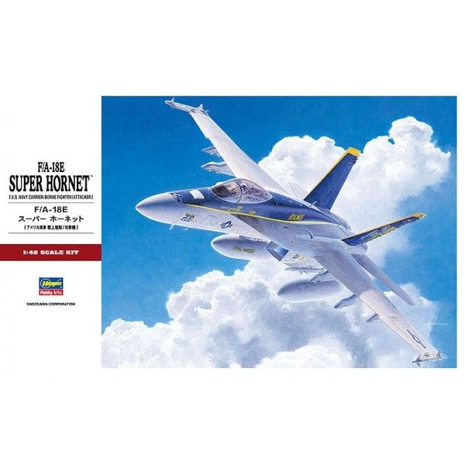 Hasegawa 1:48 F/A-18E Super Hornet Aircraft Model Kit