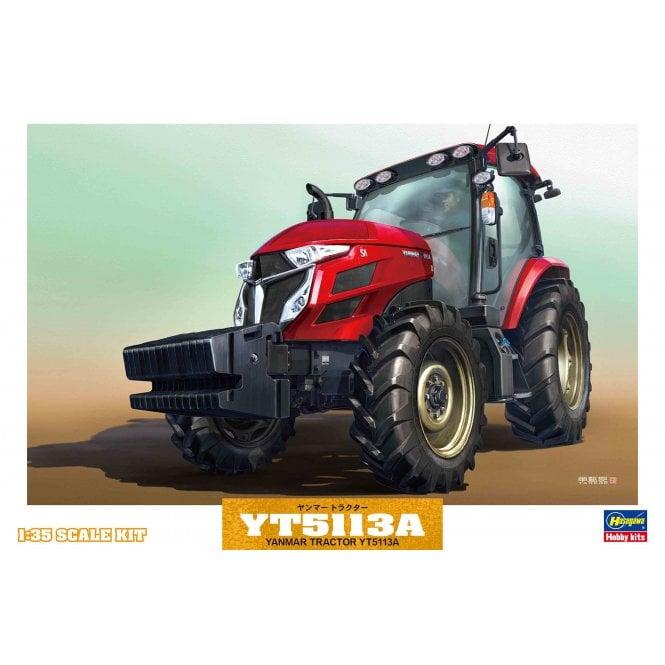 Hasegawa 1:35 Yanmar Tractor YT5113A Model Kit