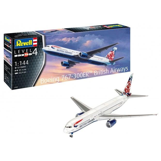 Revell 1:144 Boeing B767-300ER British Airways Aircraft Model Kit