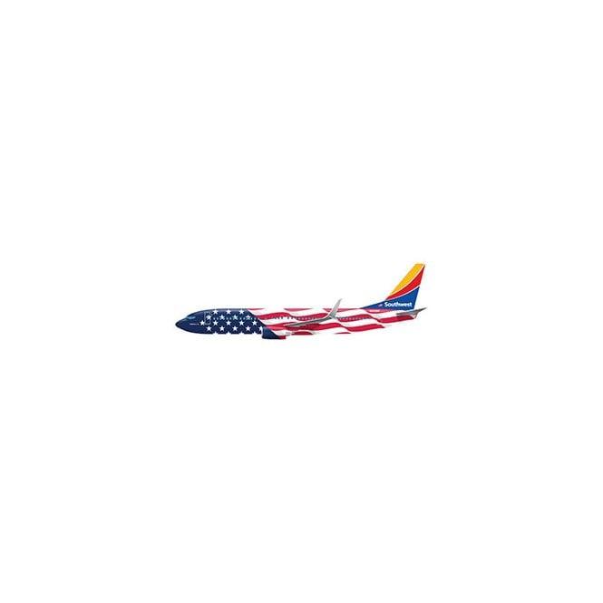 Gemini Jets 1:200 Boeing B737-800 Southwest ' Freedom One ' Reg - N500WR