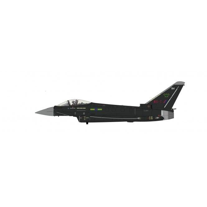 "Hobby Master 1:72 Eurofighter Typhoon FGR4 ""Aggressor"" ZJ914, IX(B) Sqn, Royal Air Force, RAF Lossiemouth, 2020"