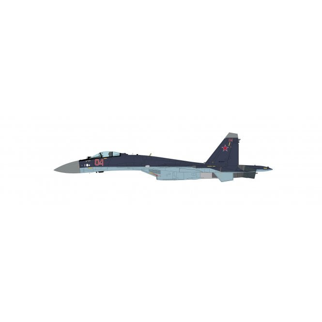 Hobby Master 1:72 Su-35S Flanker E Red 04/RF-95241, Russian Air Force, Sept 2019