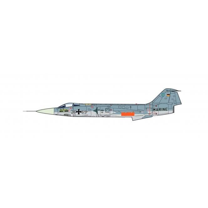 Hobby Master 1:72 F-104G Starfighter 26+69, MFG 2, Marineflieger, 1985