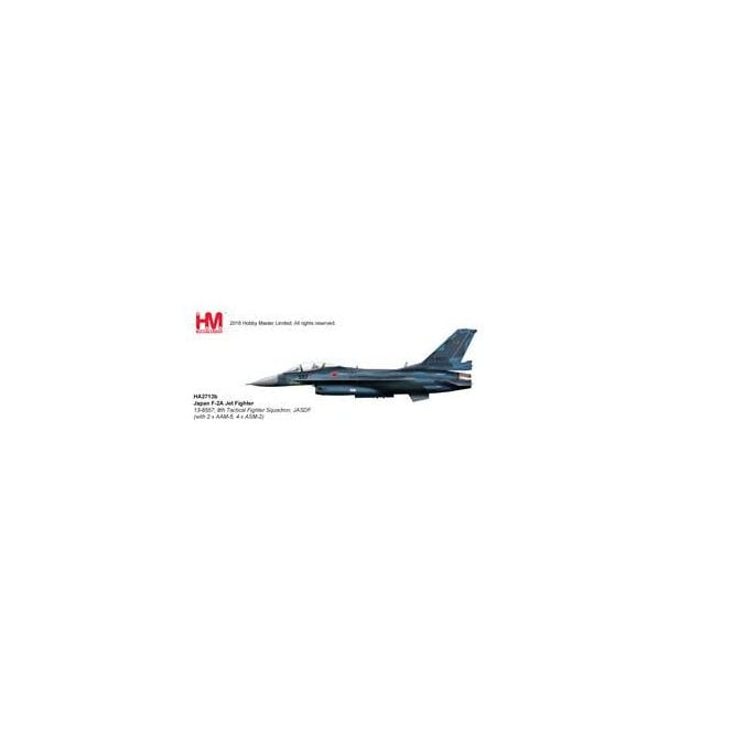 Hobby Master 1:72 Japan F-2A Jet Fighter 13-8557, 8th Tactical Fighter Squadron, JASDF (with 2 x AAM-5, 4 x ASM-2)