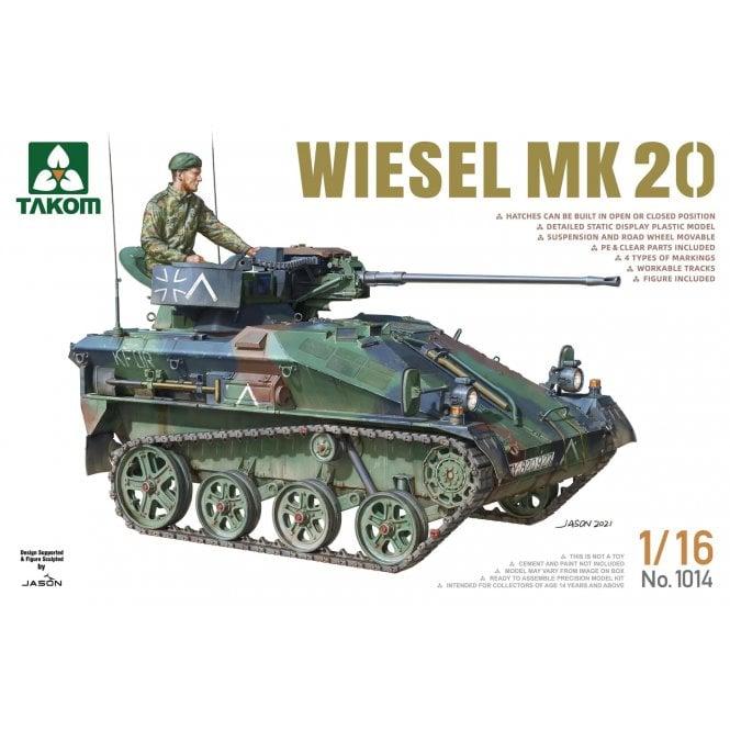 Takom 1:16 Wiesel MK.20 Model Military Kit