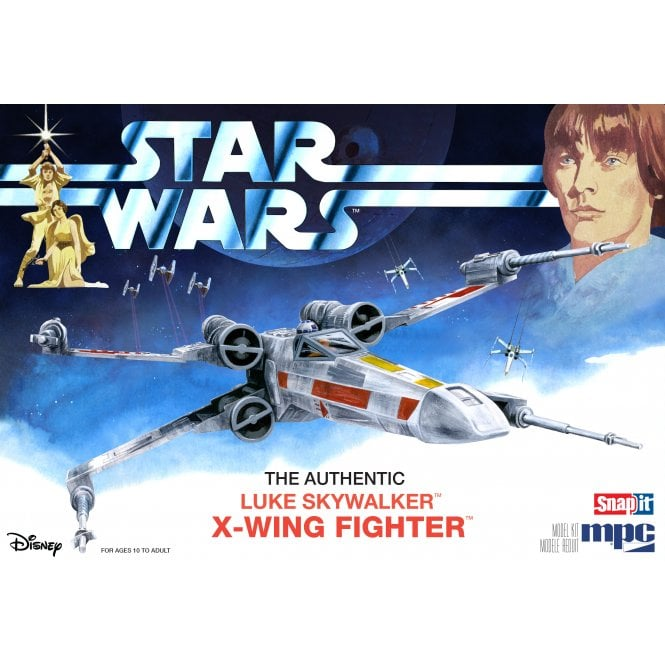 MPC 1:63 Star Wars: A New Hope X-Wing Fighter (SNAP Kit) Model Kit